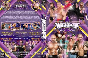 WWE WrestleMania XXX DVD V1 by Chirantha