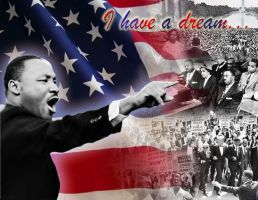 Martin Luther King by phoenixfyre6967