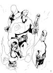 Hellboy Character Studies by TheBoo