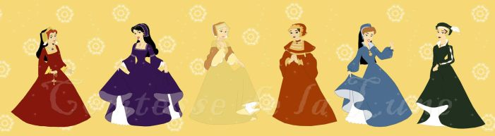 The Tudor Roses by Comtessedelalune