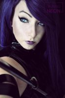 Psylocke by Its-Raining-Neon