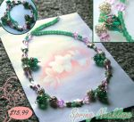 Spring Necklace - Jewelry by CrystallineEssence
