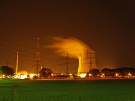Nuclear Powerplant Philipsburg by mojomagmajo