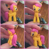 ( MLP ) Scootaloo Busy Books Toy by KrazyKari