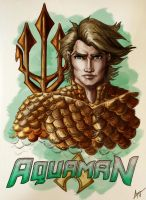 aquaman markers COLOR by AlexxiaTM