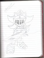 sir lancelot : sketch by SonicForTheWin1