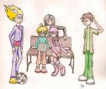 Code Lyoko Gang by waterbender-chan