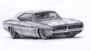 Dodge Charger RT 1969 by 118shadow118