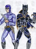 Black Panther and Phantom by theaven