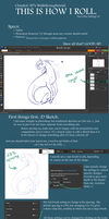 Walkthroughtorial: Inking by Clouded-3D