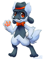 [Charity Collab] Leon the Riolu by Haychel