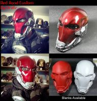Red Hood Helmet Custom by Uratz-Studios