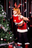 Kasumi Christmas New Year costume 2 by grellkaLoli