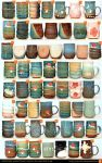 April Pottery Inventory by skimlines