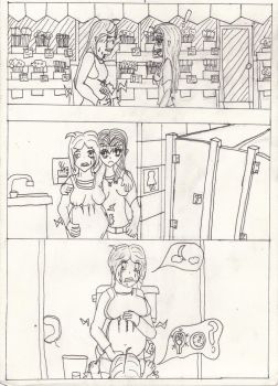 RP comic :Flower Shop Baby by Psychopregnant