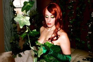 Poison Ivy and her plants by cosplaynut