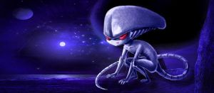 Little Alien by f19850928