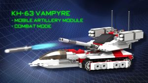 KH-63 Vampyre - Mobile Artillery Deployed by SWAT-Strachan