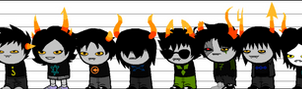 My Main Fantroll Height Chart by Rotommowtom