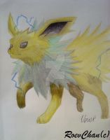 Jolteon by RoevChan