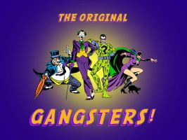 The Gotham City Gangsters by Superman8193