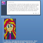 OMG! She responded to my ask! by tophxomi