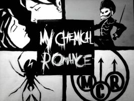 MCR was an idea... by RedHairedComic