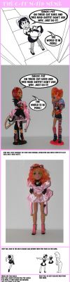 The Cat Maid Meme Monster High by KnightWolfPro