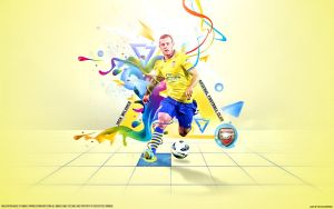 Jack Wilshere 10 ARSENAL by namo,7 by 445578gfx