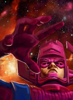 Galactus by schultzee