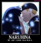 NaruHina is  canon Deal  with  it by magicofantasy