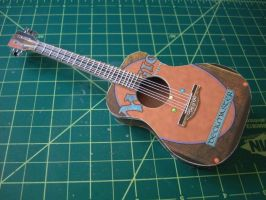 1:6 Scale Acoustic Guitar by JNorad
