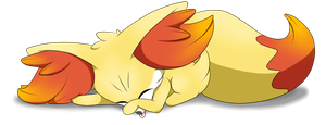 Suggestion Foxes: Unpainted, Sleeping, No Box by DreamingMystic