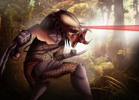 Original Predator by nick-tyrrell