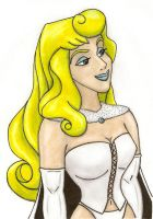 Aurora as the White queen by herofan135