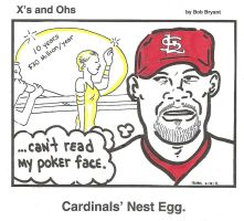 Cardinals' Nest Egg by cheesebugs