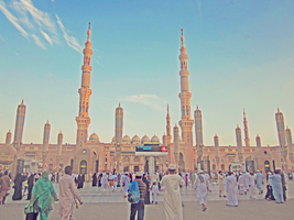 Masjid an-nabawi by FaceTheWorldDude