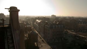 Lille in winter by Megalomat