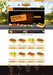 Orange web design by accelerator