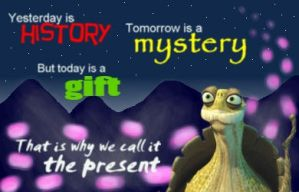 Master Oogway Quote by Doswah