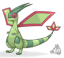 Timid Flygon by Kimi133