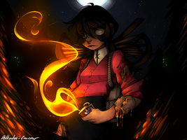 Firestarter by Polkadot-Creeper