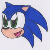 Sonic the Hedghog by Piplup88908