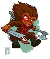 Lil Grizzlor by lordmesa