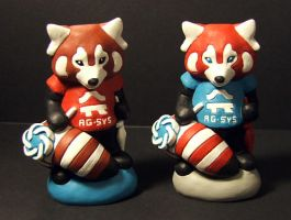 AG Systems Red Pandas by Meadowknight