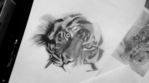 Tiger PART II by Thalis33