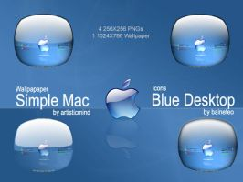 Blue Desktop by baineteo