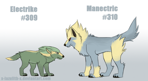 Realistic Electrike and Manectric