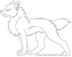 Tovery by Shiro-wolf by Lineartstock