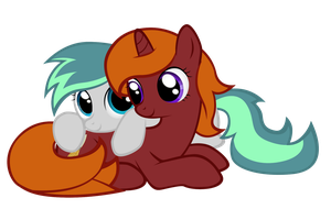 MLP#11 Aeris and Rockshire by SymbianL